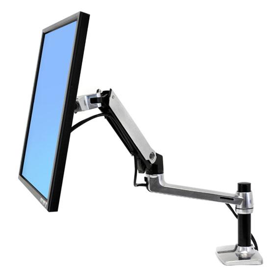MGTC SHOP 45-241-026 LX Desk זרוע שולחנית ארגונומית למסך