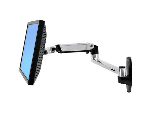 45-243-026 LX Wall זרוע ארגונומית עם חיבור לקיר למסך או מחשב נייד